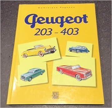 En ligne La Peugeot 203-403 pdf