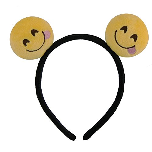 JOX JOZ Emoji Emoticon Girls Boys Cute Headband Hairpin Hair Clip Headwear Hair Band Kid (SP0005-01)