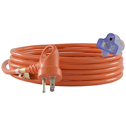 Conntek 24162-144 I-Ring Extension Cord 12-Foot 16/3 Bright Orange Jacket U.S. I-Ring Male Plug by Conntek