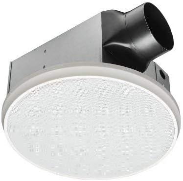 HOMEWERKS WORLDWIDE 7130-03-BT Bluetooth Bath Fan /& Speaker Renewed