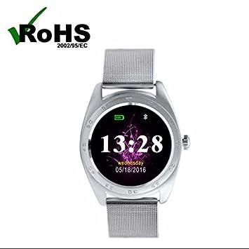 Notificador Bluetooth Elegante Reloj de Deporte Smartwatch ...