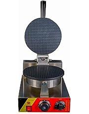 ماكينة خبز الوافل على شكل مخروط ايس كريم / صانعة ذرة الوافل