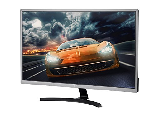 Monoprice 32in 4K HDR IPS Ultra Slim Desktop Monitor Gun Metal with Slim Bezel