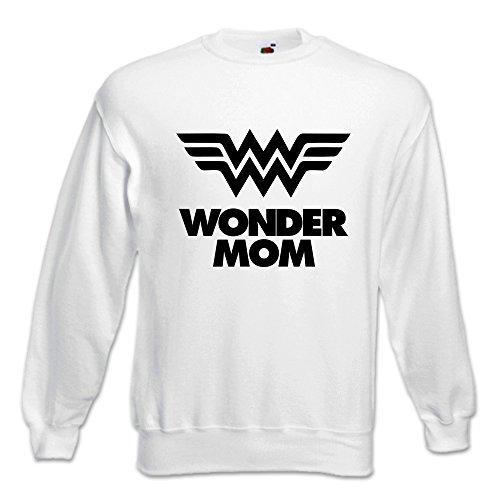 Regalo Festa Mamma Mother's Donna Day Wonder Wm Idea Felpa Bianca Mom Babloo Della YXwfqpx