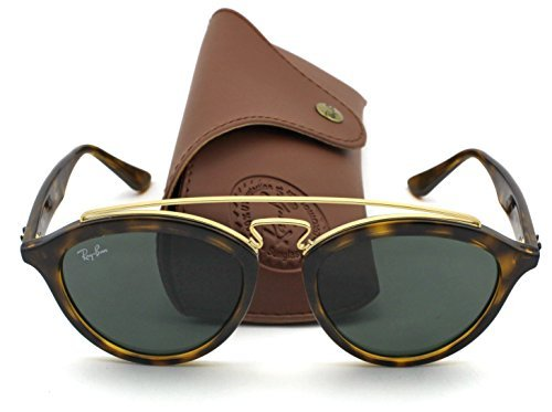 b9e083735a7 Ray-Ban RB4257 Retro-modern Women Sunglasses (Tortoise Gold Frame Green  Classic Lens 710 71