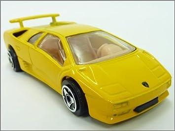 Vicky Bburago 1 43 Minicar Lamborghini Diablo Yellow Amazon