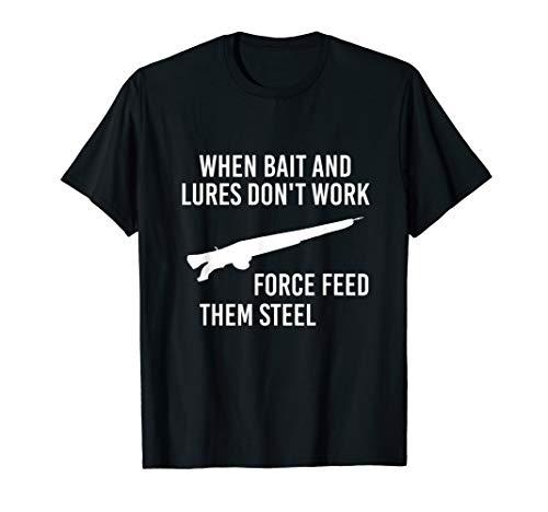 Spearfishing Shirt Speargun Freediving T Shirts Men Gift