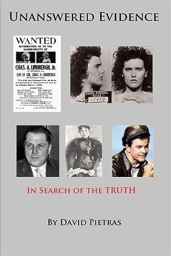 Book Unanswered Evidence by David Pietras (2014-01-25)