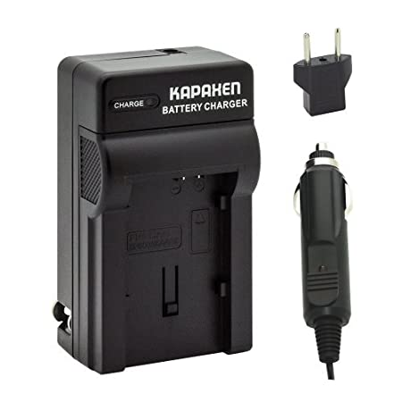 Kapaxen Rapid Battery Charger Kit for Canon BP 820 BP 828 Camcorder Batteries Video Camera Batteries