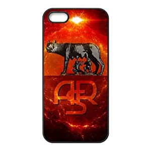 As Roma Logo iPhone 4 4s Cell Phone Case Black TPU Phone Case SV_039703