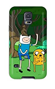 Tina Chewning's Shop 1258182K37286065 Design High Quality Adventure Time Cover Case With Excellent Style For Galaxy S5