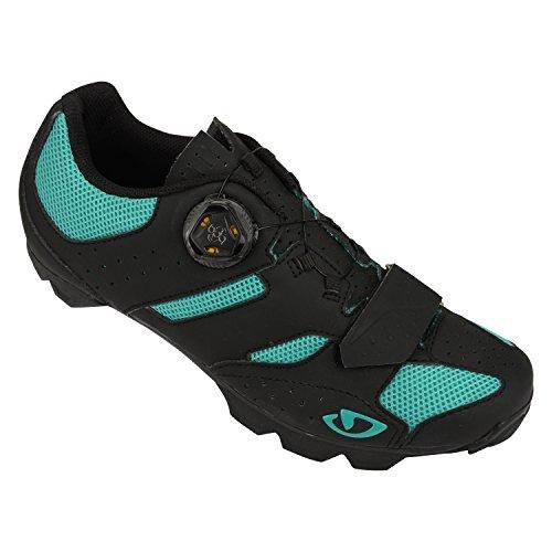 Giro Sage Boa MTB Shoe - Performance Exclusive 39 Matte Black/Green