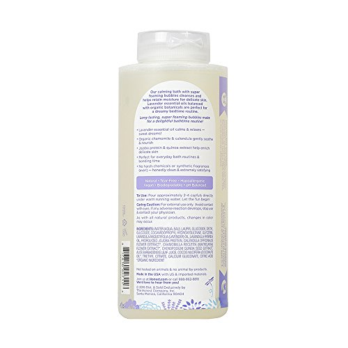Honest-Calming-Lavender-Hypoallergenic-Bubble-Bath-With-Naturally-Derived-Botanicals-Dreamy-Lavender-12-Fluid-Ounce