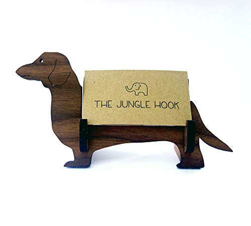 Dachshund business card holder ()