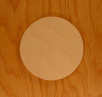 CIRCLE Wood 1/8 x 18 PKG 1 laser cut wooden CIRCLE by WOODNSHOP