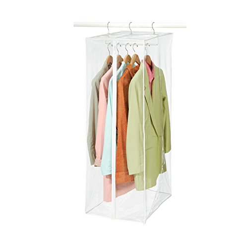 3 X Clear Vinyl Storage Maxi Rack Suit Garment (Vinyl Storage Racks)