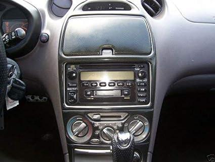 Amazon Com Toyota Celica Interior Black Carbon Fiber Dash Trim Kit