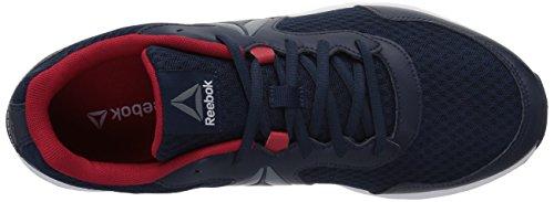 Reebok Mens Uiten Runner Sneaker Coll. Navy / Uitstekende Rode / Asteroïde Stof / Wit