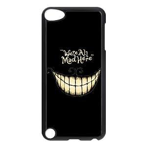 Cute Cartoon Case Alice in Wonderland iPod Touch 5 5G 5th Generation Hard Shell Plastic Case