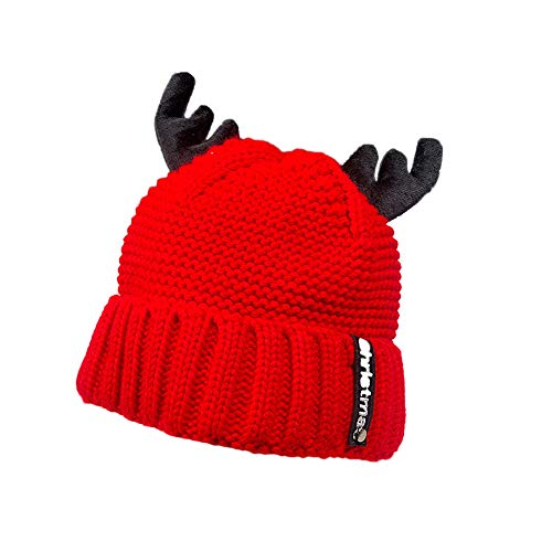 WUAI Christmas Hats for Adults, Unisex Winter Warm