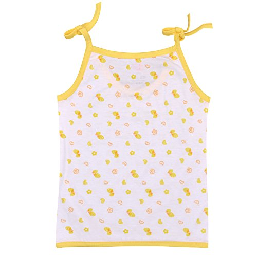 Orange and Orchid Unisex Polka Dot Regular Fit Tank Top