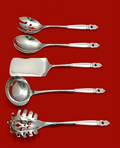 Royal Danish by International Sterling Silver Hostess Set 5p
