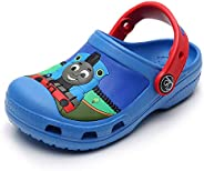 SPKIDS Toddler Cartoon Clogs Slide Sandals Boys Girls Beach Slippers