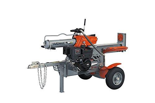 (YARDMAX YS3065 30 Ton Half Beam Gas Log Splitter, 4-Way Wedge, Briggs & Stratton, CR1450, 10.5HP, 306cc)