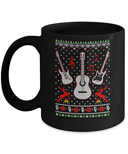 Singer Song Guitar Ugly Christmas Sweater Mug Coffee Mug 11OZ Coffee Mug ()