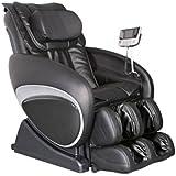 Cozzia 16027 Zero Gravity Shiatsu Massage Chair - Black