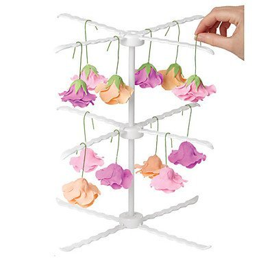 DY2DY Fondant Sugar Flower Drying Racks Hanging Shape Display Cake Decorating Pastry Tool Cake Tool