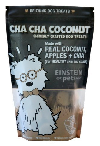 Einstein Pets- Cha-Cha COCONUT-- Grain Free and Organic Dog Treats- 8oz (Coconut Treats For Dogs)