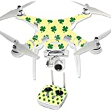 MightySkins Protective Vinyl Skin Decal for DJI Phantom 3 Professional Quadcopter Drone wrap cover sticker skins Lucky You
