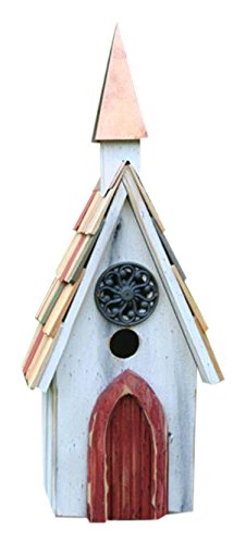 Heartwood 194A Jubilee Bird House in White -