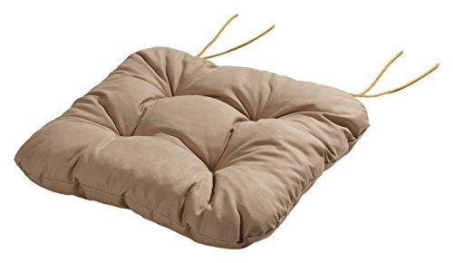 Schwar Textilien 'Sedia Cuscino Cuscino Cuscino Con Nastri 40x 40x 8cm Città del Capo Sand Nicht Zutreffend