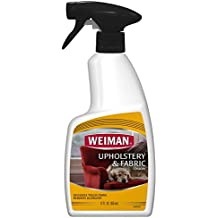Weiman Upholstery & Fabric Cleaner - Removes Tough Stains & Odors - 12 Fl. Oz.