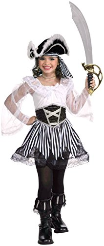 Forum Novelties Pepper the Pirate Lass Costume, -