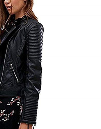 Chaqueta Full y calidad diseño Skin primera para mujer cuero Cuero AOARtwx
