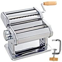 Ad Fresh 3 in 1 Stainless Steel Noodles Cutter Roller, Pasta Maker Machine