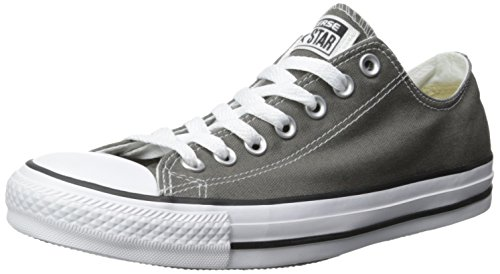 ee5371102e3a3 Converse Unisex Chuck Taylor All Star Ox Low Top Classic Charcoal Sneakers  - 10.5 B(M) US Women / 8.5 D(M) US Men