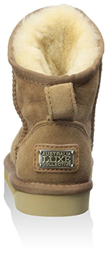 X Short Boot Cosy Luxe Chestnut Kid's Australia qWOfBntE