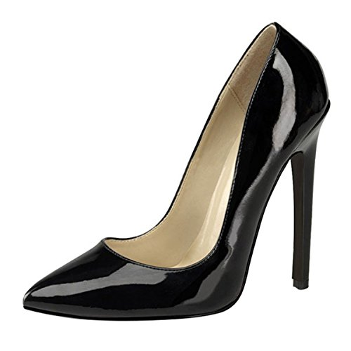 Heels-Perfect - Zapatos de vestir de material sintético para mujer negro negro negro - negro