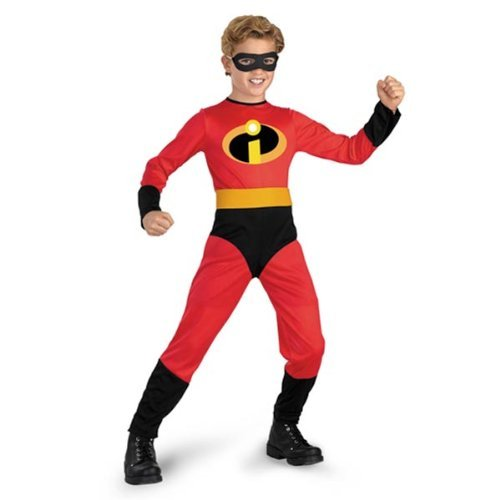 [Dash Incredible Child Costume Size: 7-8 Color: Red, Model: 5904, Toys & Play] (Dash Incredibles Costumes)