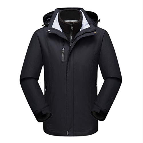 Calda Antivento Impermeabile Alpinistica Traspirante S Tuta Size Black1 Due Giacche color Da E Blue Felicipp Pezzi Uomo Uno Invernali In Tre qSzOBnnwAZ