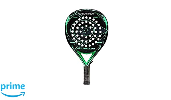 DUNLOP Padel Pala Fusion Elite Green 355grs 38mm: Amazon.es ...