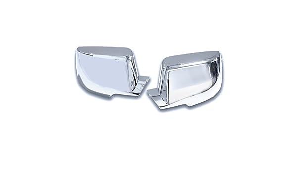 FOR CADILLAC ESCALADE CHEVY SUBURBAN GMC YUKON Chrome Top Half Mirror Covers
