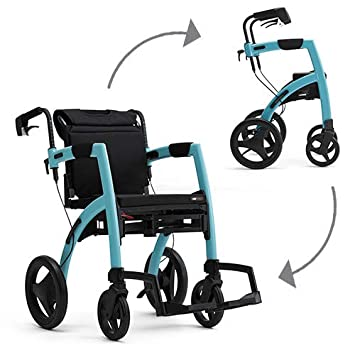 Amazon.com: Rollz motion2 Walker Andador, normal, Celeste, 1 ...