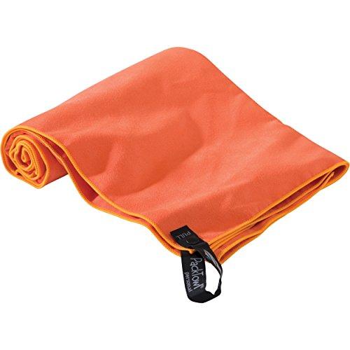 PackTowl Personal Microfiber Towel, Grapefruit, Hand- 16.5 x 36-Inch ()