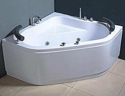 Vasca Da Bagno Angolare Usata : Vasca idromassaggio due posti con getti e rubinetteria