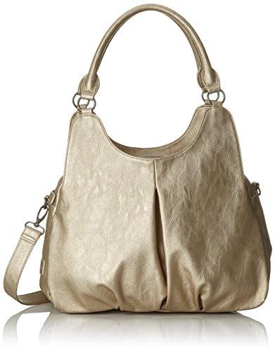 Fritzi aus Preußen Gabriela - Shoppers y bolsos de hombro Mujer Dorado (Gold)